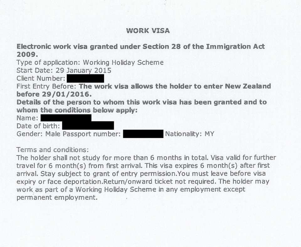 Apply New Zealand Working Holiday Visa-1