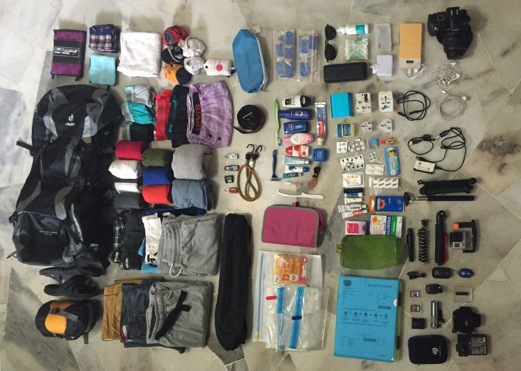 Guide to New Zealand Working Holiday packing bag