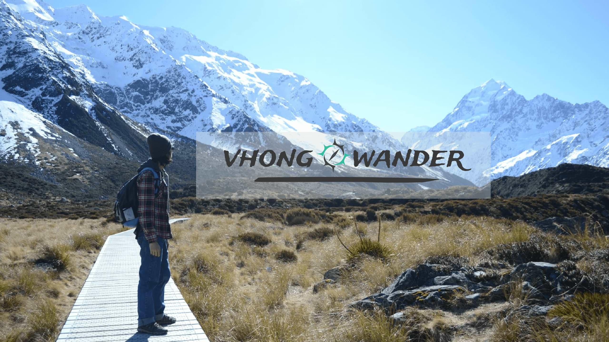 VHong Wander Youtube Channel Art